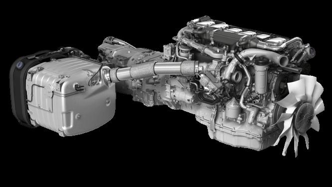 Euro 6 Engine Motor